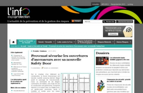 article l'info expoprotection