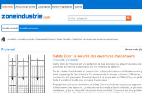 article zoneindustrie.com